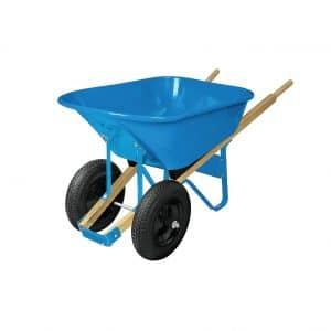 Westward 2 Pneumatic 6 cu. Ft Steel Wheelbarrow