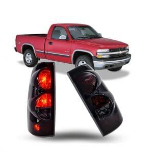 ZMAUTOPARTS Chevy Pickup Tail Brake Light