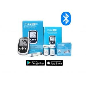 CURO G6S Glucose Bluetooth Home Test Kit