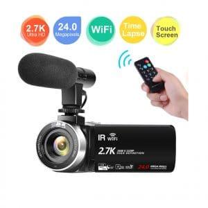 CEDITA Camcorder Video Camera Full HD