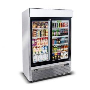 KITMA 44.8 Cu. Ft Sliding Refrigerator