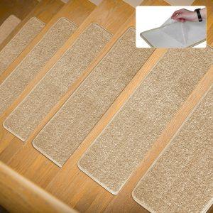 Lonnie Lofe Anti-Skid Carpet Stair Treads