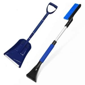 Meejie Extendable Car Cordless Snow Shovel