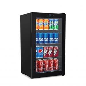 Nutrichef Wine and Beverages Big Refrigerator Cooler