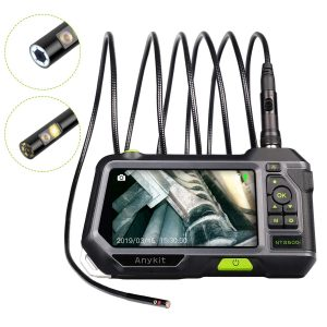 Anykit Dual Lens Endoscope Inspection Camera