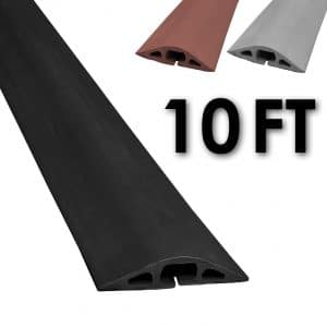 Electriduct D-2 Rubber Cord Cover - 10 Feet