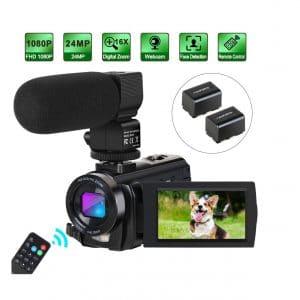 Aabeloy Camcorder Video Camera
