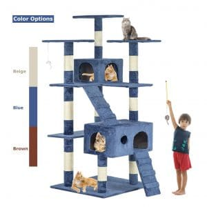 Bestpet Cat Tree Tower Condo