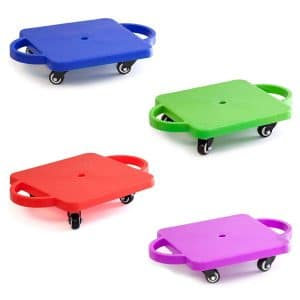 GSE Games & Sports Expert Plastic Scooter Board (6 Colors Available)