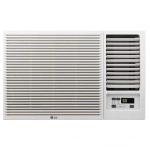 LG Chill Series Window Air Conditioner with Electric Heater