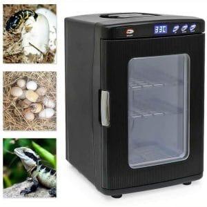 ETE ETMATE Reptile Egg Incubator, 25L Intelligent Automatic Incubator, Incubator Cabinet Chicken Bird Turtle Snake Hatching Turner