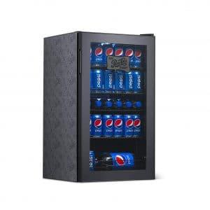 Pepsi Cola Small Beverage Mini Fridge 126 Can Capacity