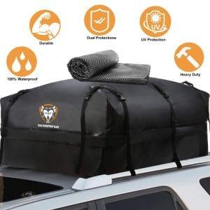 SUNER POWER Waterproof Rooftop Cargo Carrier Bag