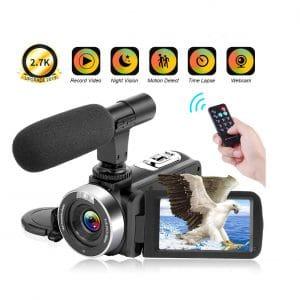 YIDA TECH 2.7K Cheap Video Camera