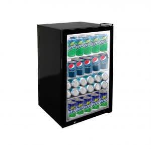 KITMA 5 Cubic Feet 150 Can Mini Beverage Refrigerator