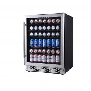 Phiestina 24-Inch Beverage Cooler Refrigerator