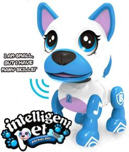 Electronic Intelligent Pocket Robot Pet Dog from Liberty Imports Store