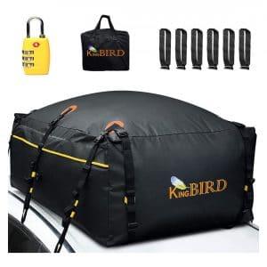 KING BIRD 15 Cubic Feet Waterproof Roof Cargo Carrier Bag