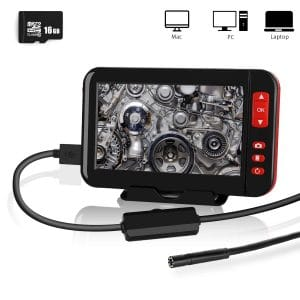 YOMERA 4.3-Inch 1080P HD LCD Waterproof Inspection Camera