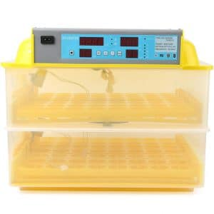 Beautylady 112 Eggs Incubator Digital Automatic Temperature Control Egg Trays for Chicken, Duck, Pigeon Eggs and more