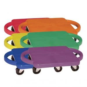 Champion Sports Plastic Scooter Board with Handles