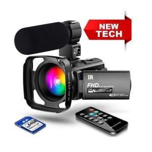 LVQUONE Ultra HD Cheap Video Camera