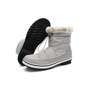 Aleader Waterproof Winter Ankle Snow Boot