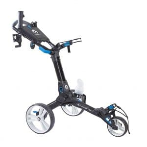 Caddiester X1-EP Deluxe Quick Foldable Golf Push Cart