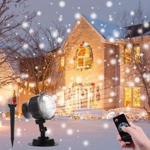 ALOVECO Christmas Projector Light IP65 Waterproof