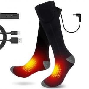 Aqziill Battery Operated Heated Socks