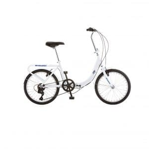 Schwinn Loop Folding White Bike