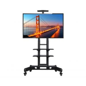 Yaheetech Adjustable Mobile TV Cart