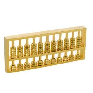 Brass Statu Chinese Abacus