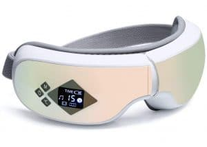 Eye Massager with Heat,Electric Air Pressure, Vibration, Bluetooth Music for Relieve Eye Fatigue