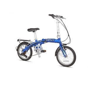 Kent Aluminium 16-Inch 7-Speed Folding Bike