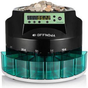 OFFNOVA Automatic Coin Sorter & Counter