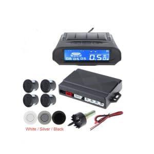 ePathChina Universal Full Digital Distance Car Parking Sensor Kit (White)