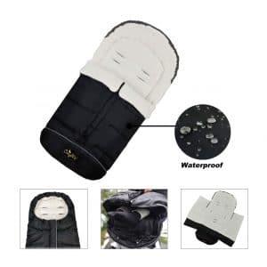 CozyMe 3-in-1 Winter Outdoor Baby Sleep Bag