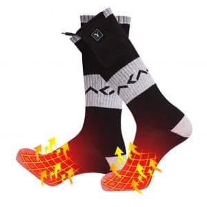 Day Wolf heated Socks