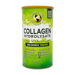 Great Lakes Gelatin 16 Oz Can Collagen Hydrolysate, Kosher, Unflavored Beef Protein