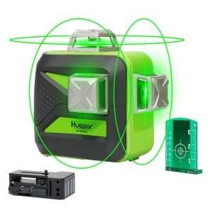 Huepar 3D Green Beam Auto-Leveling Laser Survey