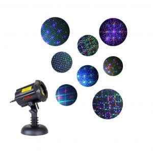LedMAll Motion 8 Patterns Christmas Projector