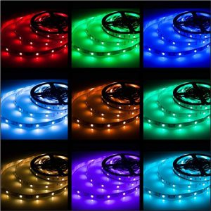 Rxment RGB LED Strip Lights 150 LEDs