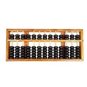 Asian Home Vintage-Style Professional Wooden Abacus