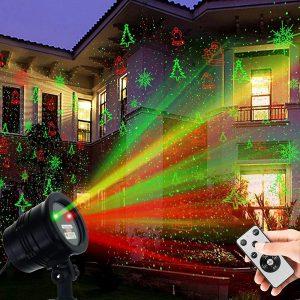TOFU Christmas Projector Light Waterproof