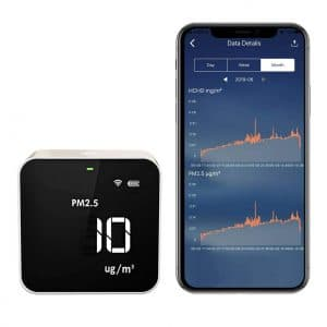 Temtop Wi-Fi Air Quality Monitor