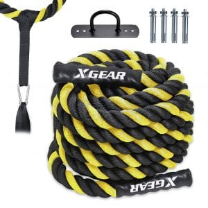 XGEAR Heavy-Duty Battle Rope