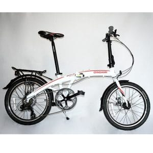 Origami Gazelle 20 Inches Lightweight Aluminum Folding Bike