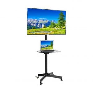 EasyMountLCD EZM Mobile TV Cart Rolling 23 to 55 Inches