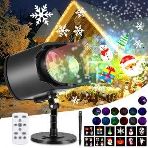 AGPTEK Christmas Projector Lights